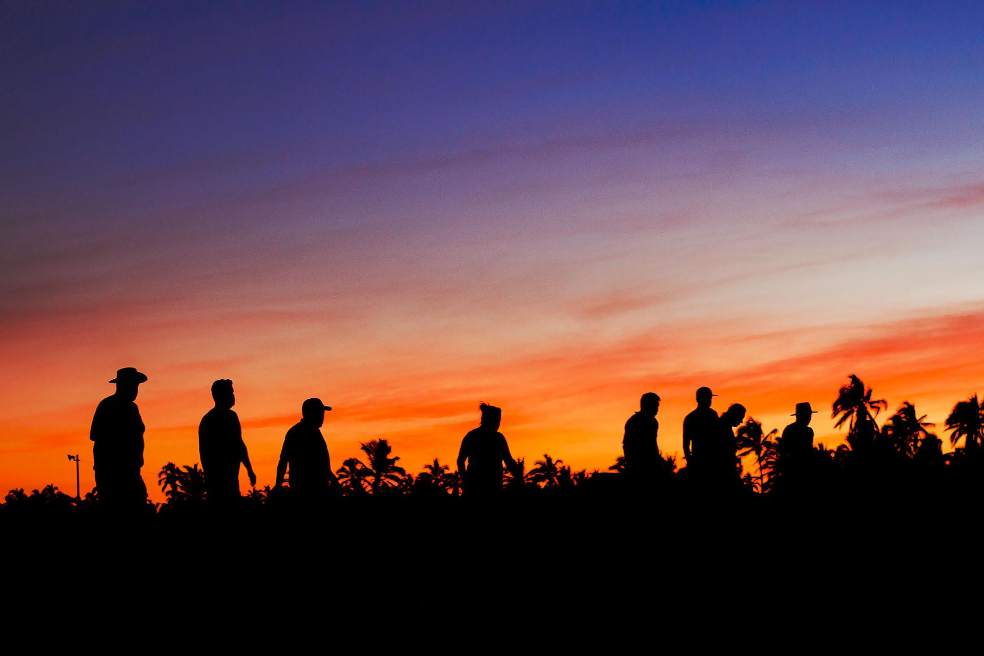 Association - Sunset Banner